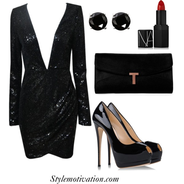 18 Stylish Party Outfit Combinations (20)