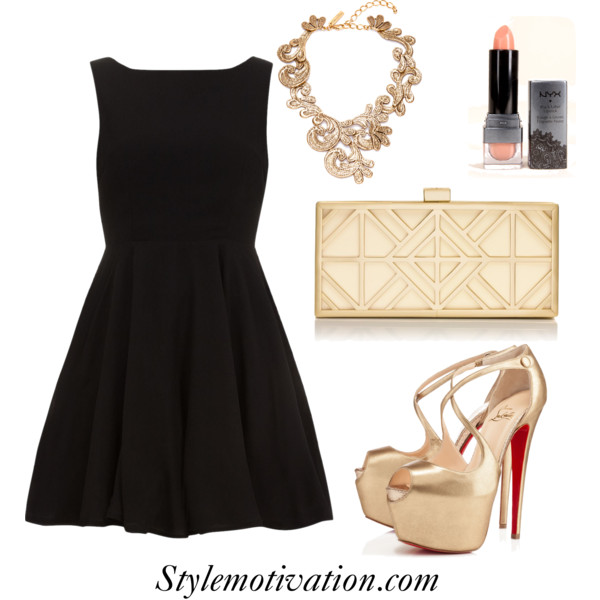 18 Stylish Party Outfit Combinations (22)