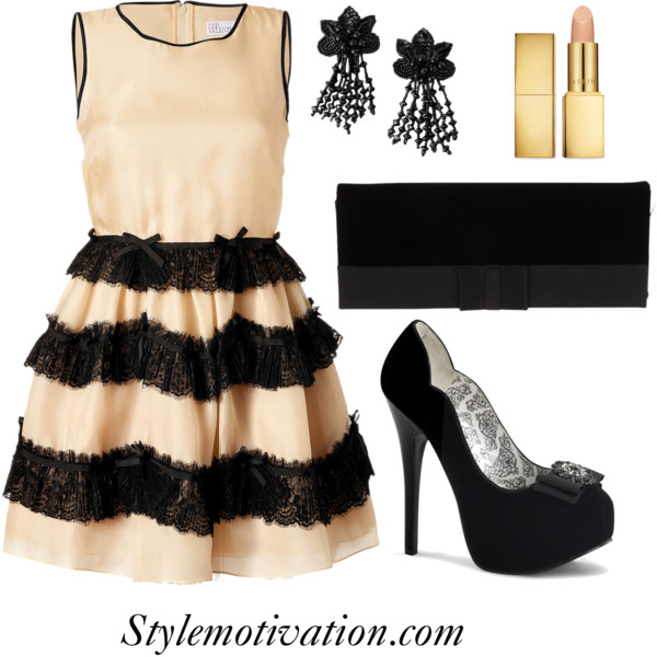 18 Stylish Party Outfit Combinations (23)