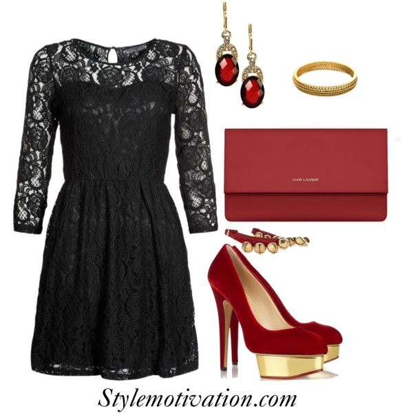 18 Stylish Party Outfit Combinations (24)