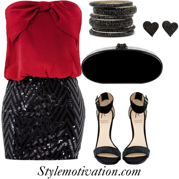 18 Stylish Party Outfit Combinations (25)