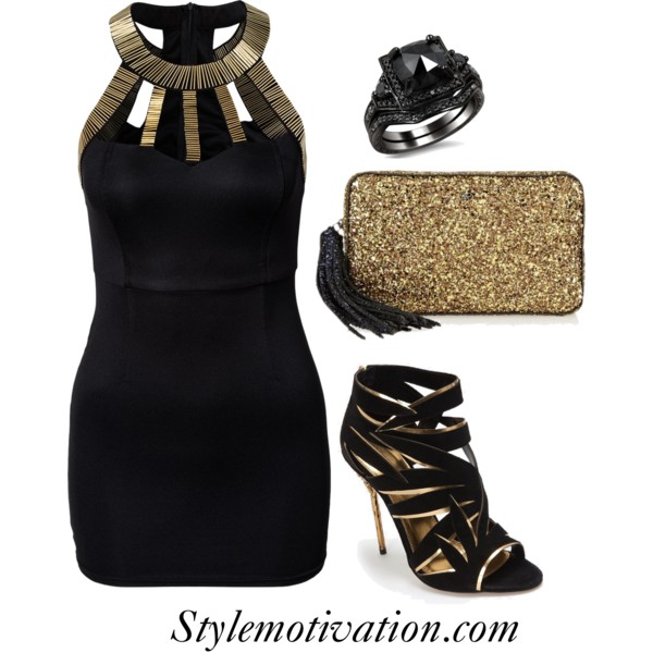 18 Stylish Party Outfit Combinations (26)