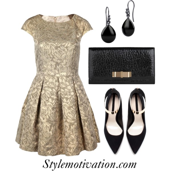 18 Stylish Party Outfit Combinations (29)
