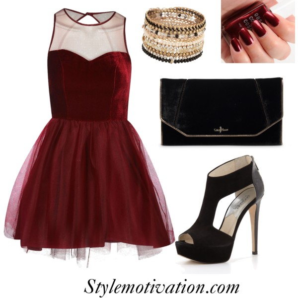 18 Stylish Party Outfit Combinations (32)