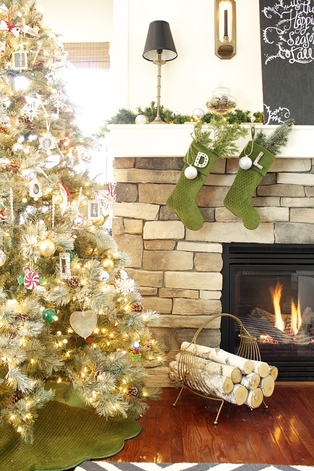 19 amazing christmas home decor ideas style motivation for Amazing christmas decorations