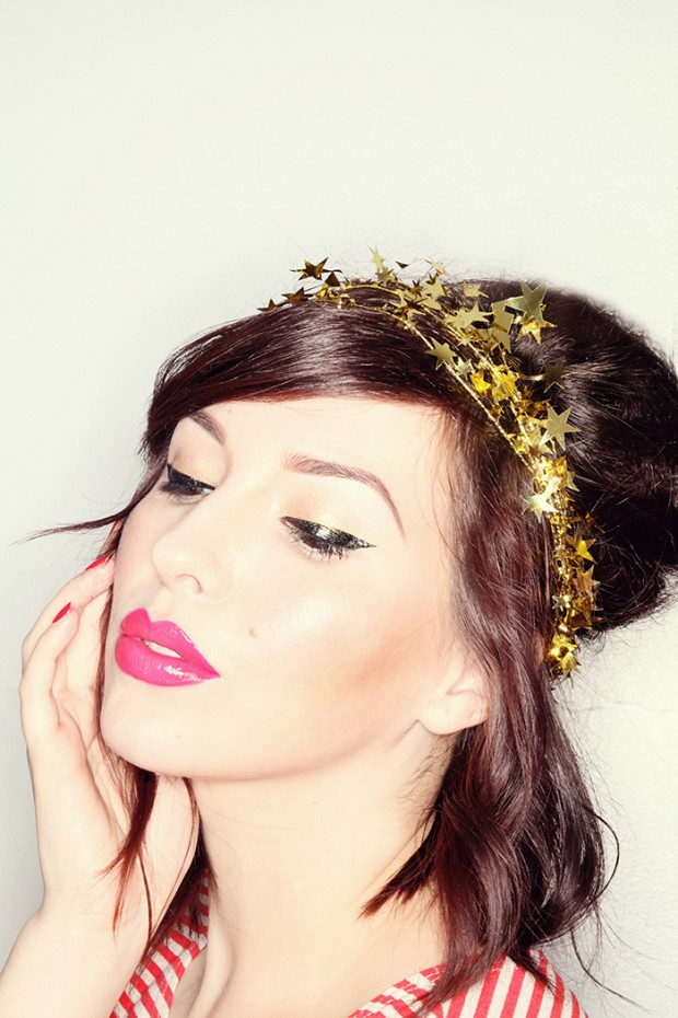 19 Glamorous Makeup Ideas and Tutorials for New Year Eve  (5)