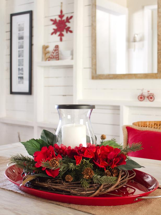 Simple Homemade Centerpiece Ideas : Simple and elegant diy christmas centerpieces style