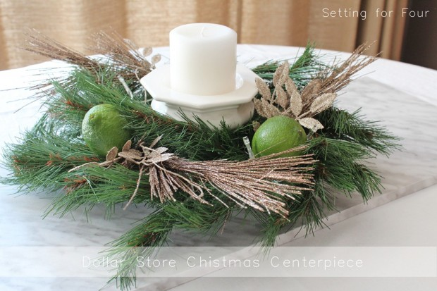 19 Simple and Elegant DIY Christmas Centerpieces (15)