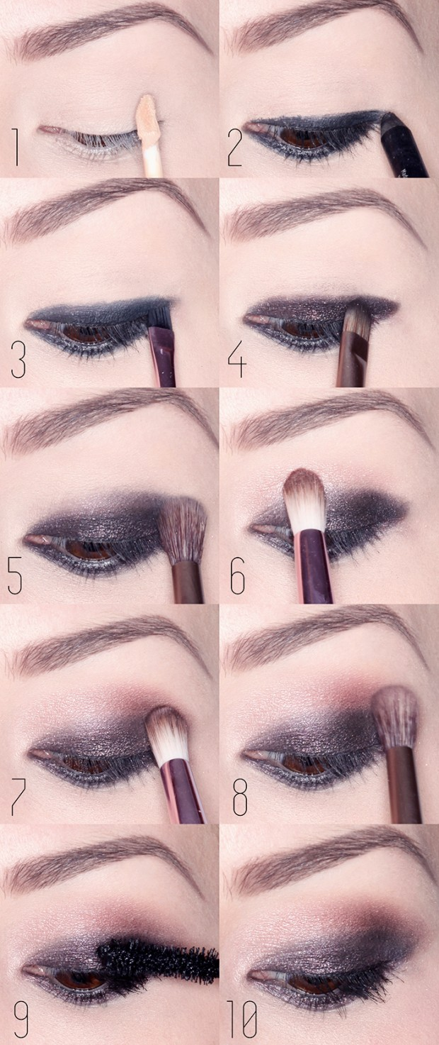 19 Statement Makeup Ideas and Tutorials for The Holiday Party Season (5)