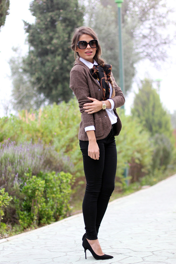 20 Amazing Office Chic Outfit Combinations (1)