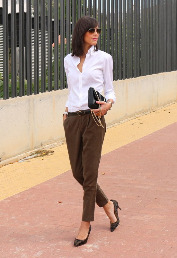 20 Amazing Office Chic Outfit Combinations (11)