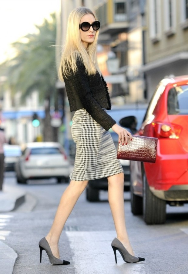 20 Amazing Office Chic Outfit Combinations (13)