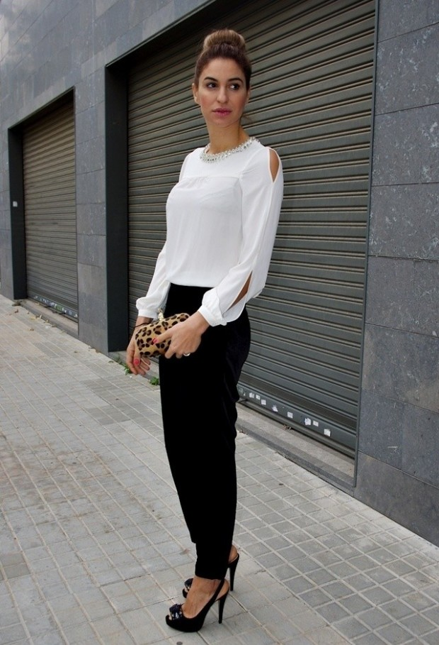 20 Amazing Office Chic Outfit Combinations (17)