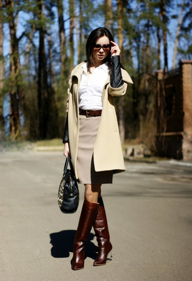 20 Amazing Office Chic Outfit Combinations (18)