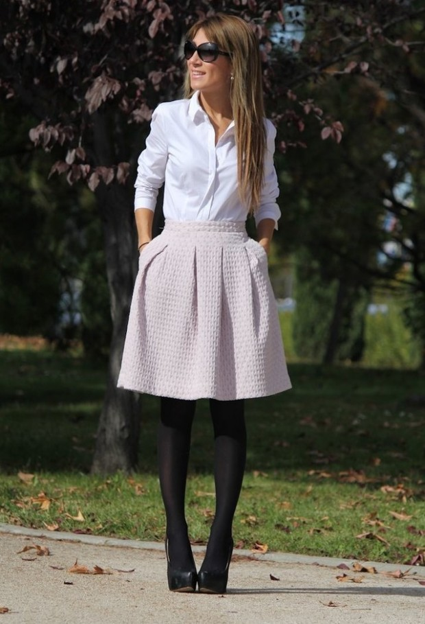 20 Amazing Office Chic Outfit Combinations (8)