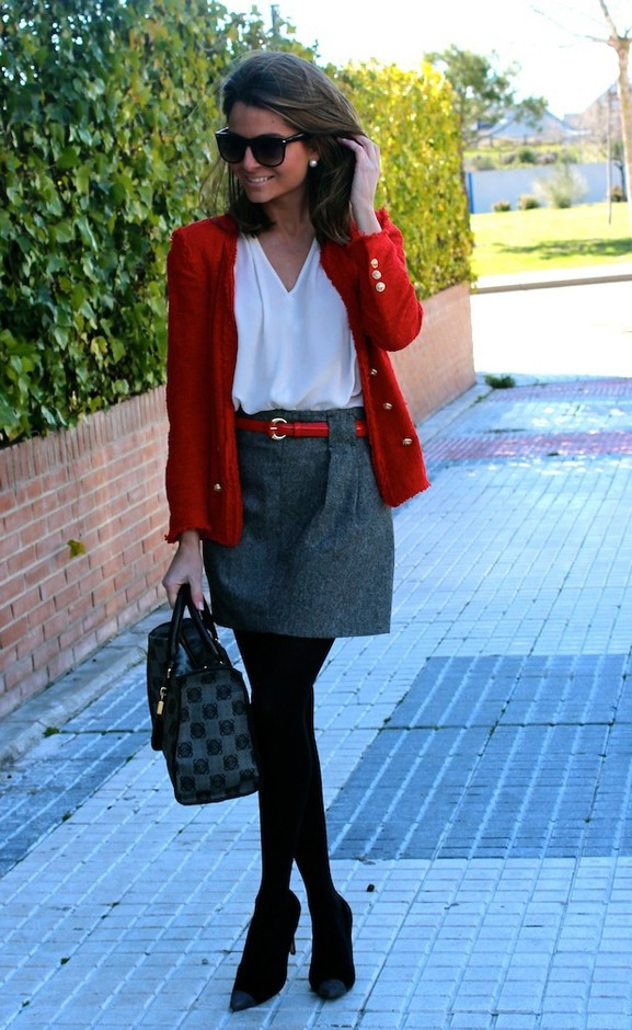 20 Amazing Office Chic Outfit Combinations (9)
