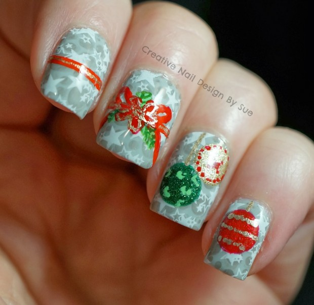20 Festive Nail Art Ideas for New Year's Eve (1)
