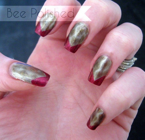 20 Festive Nail Art Ideas for New Year's Eve (10)