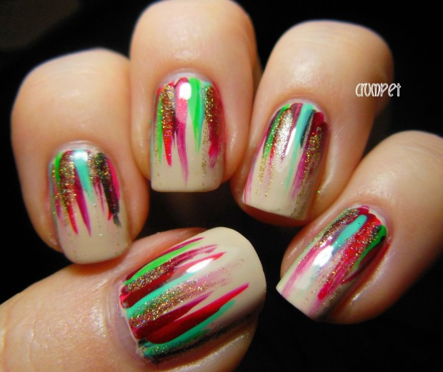 20 Festive Nail Art Ideas for New Year's Eve (13)