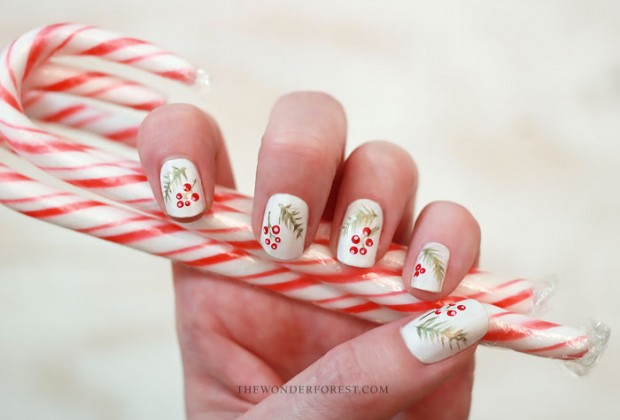 20 Festive Nail Art Ideas for New Year's Eve (15)