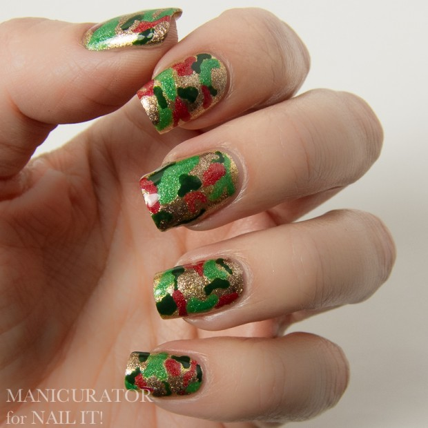 20 Festive Nail Art Ideas for New Year's Eve (16)