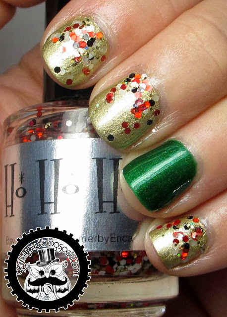 20 Festive Nail Art Ideas for New Year's Eve (17)