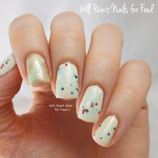 20 Festive Nail Art Ideas for New Year's Eve (18)