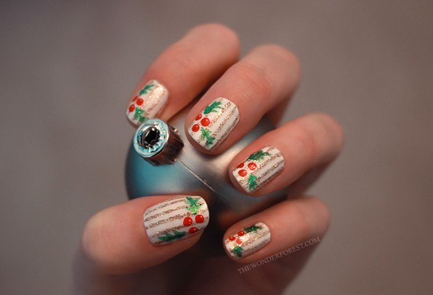 20 Festive Nail Art Ideas for New Year's Eve (19)