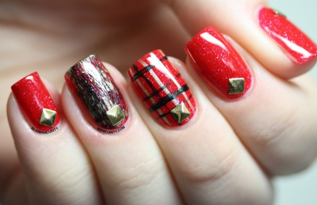 20 Festive Nail Art Ideas for New Year's Eve (2)