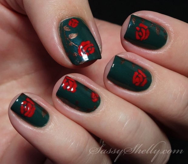 20 Festive Nail Art Ideas for New Year's Eve (3)