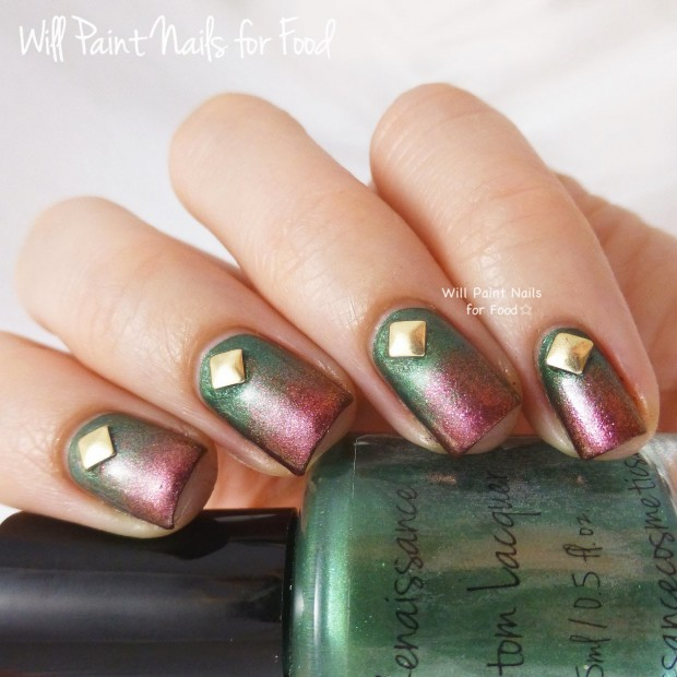 20 Festive Nail Art Ideas for New Year's Eve (5)