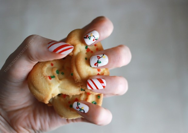 20 Festive Nail Art Ideas for New Year's Eve (7)