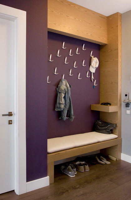 20 Great Ideas for Entry Bench Design and Organization (4)