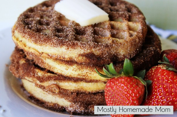 20 Great Waffle Recipes Perfect for Holiday Breakfast (10)