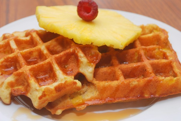 20 Great Waffle Recipes Perfect for Holiday Breakfast (15)