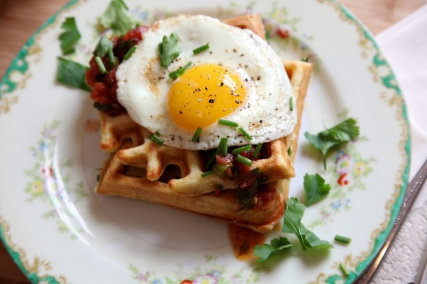 20 Great Waffle Recipes Perfect for Holiday Breakfast (5)