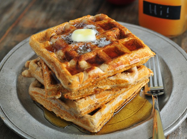20 Great Waffle Recipes Perfect for Holiday Breakfast (6)