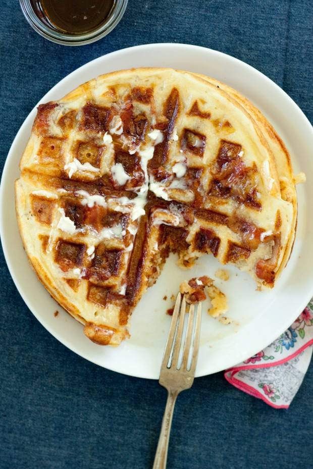 20 Great Waffle Recipes Perfect for Holiday Breakfast (8)