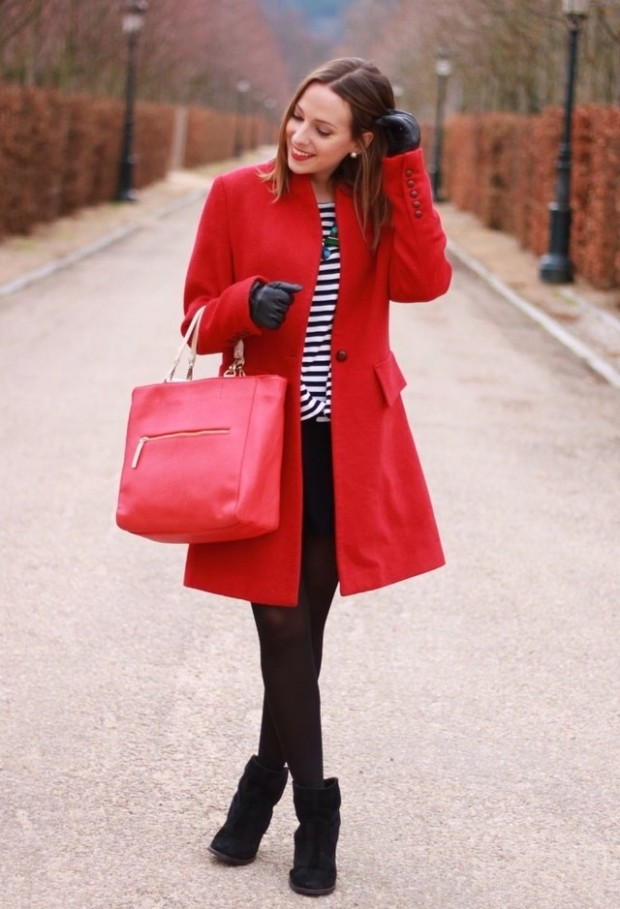 20 Popular Street Style Combinations for Winter (1)