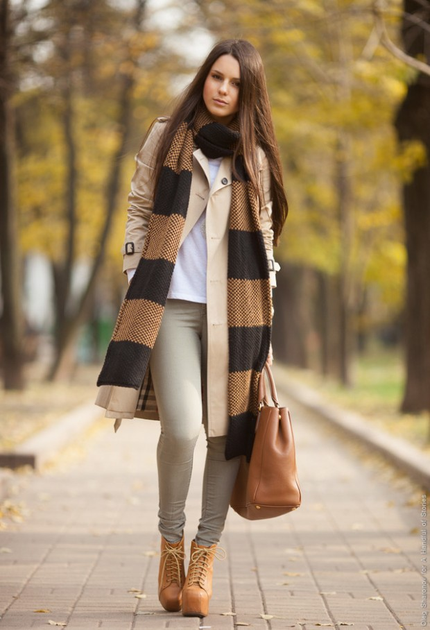 20 Popular Street Style Combinations for Winter (12)