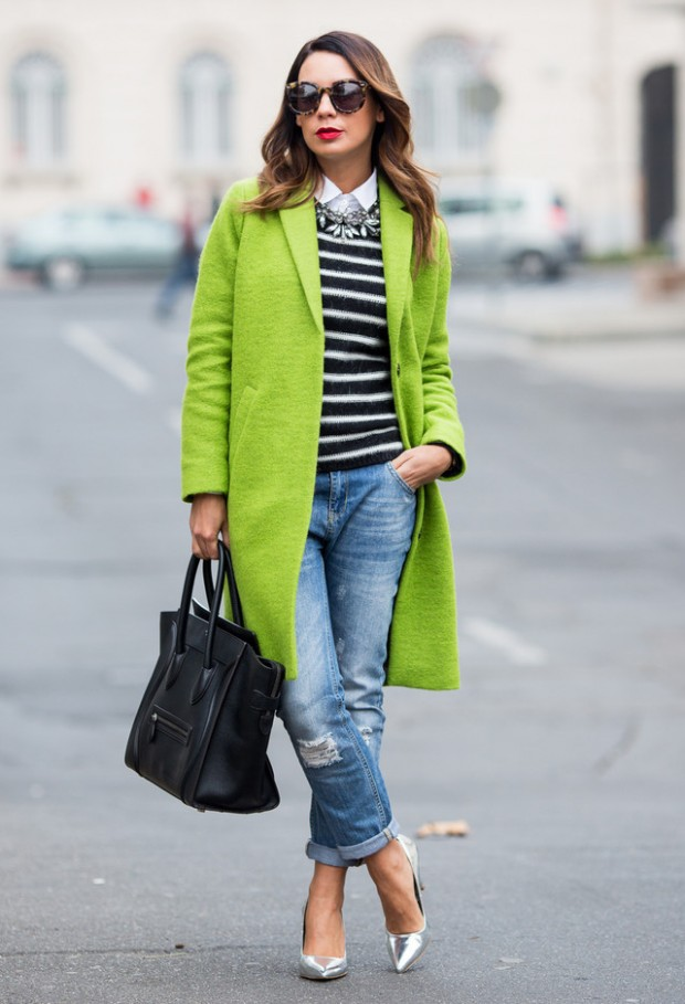 20 Popular Street Style Combinations for Winter (13)