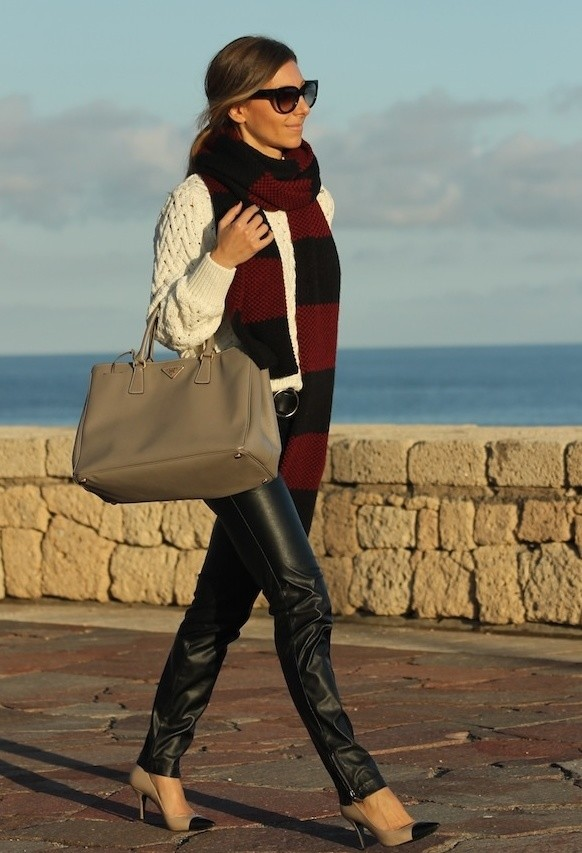 20 Popular Street Style Combinations for Winter (17)