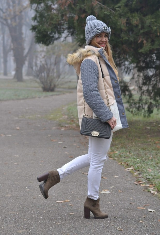 20 Popular Street Style Combinations for Winter (18)