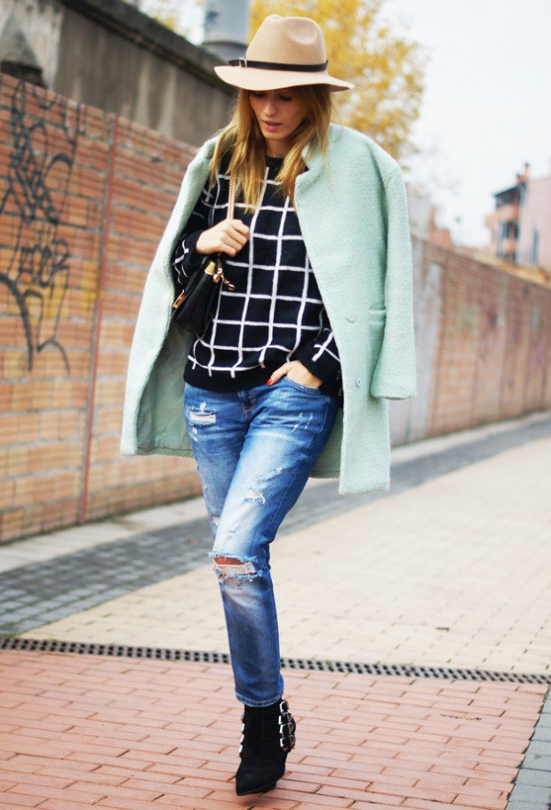 20 Popular Street Style Combinations for Winter (19)