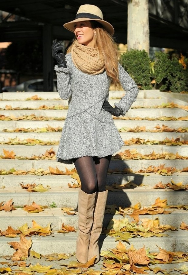 20 Popular Street Style Combinations for Winter (20)