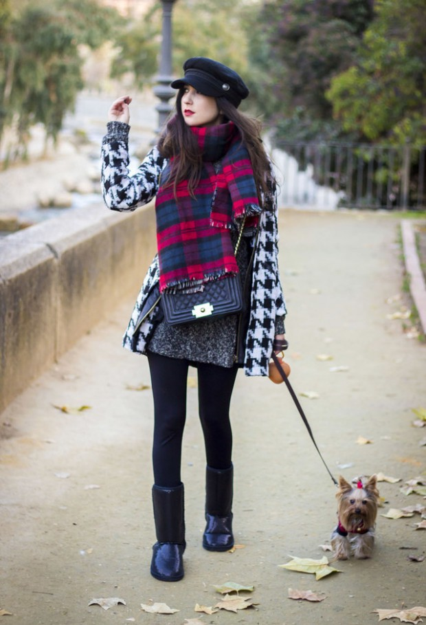 20 Popular Street Style Combinations for Winter (3)