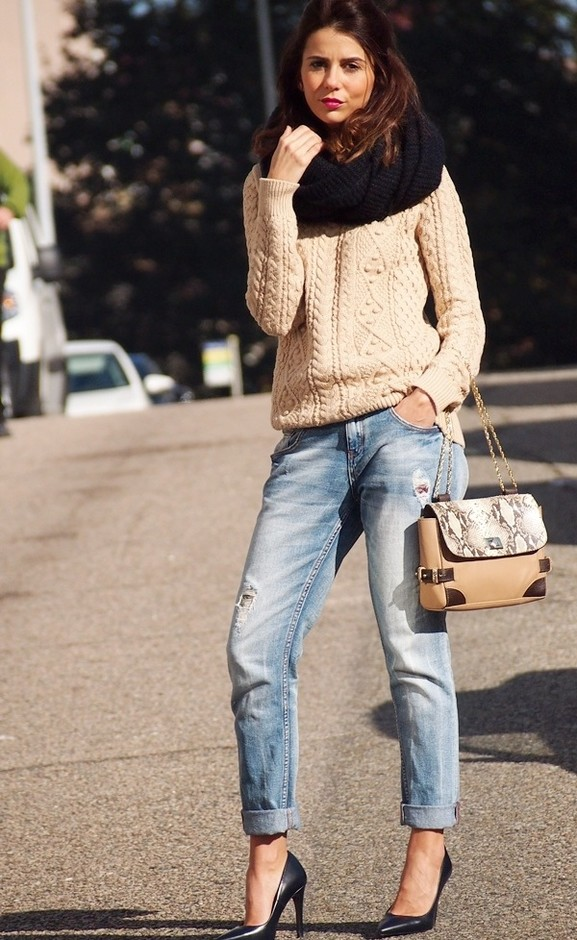 20 Popular Street Style Combinations for Winter (4)