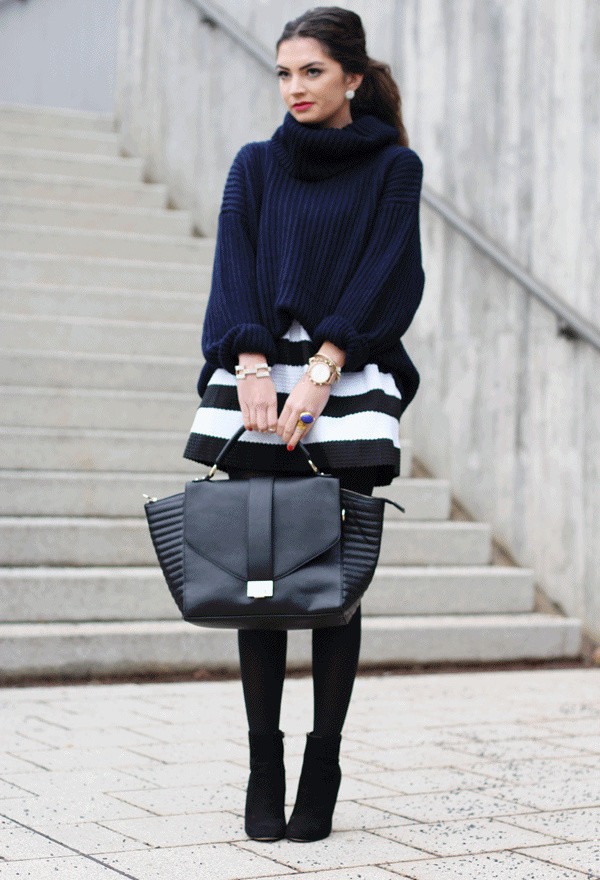 20 Popular Street Style Combinations for Winter (5)