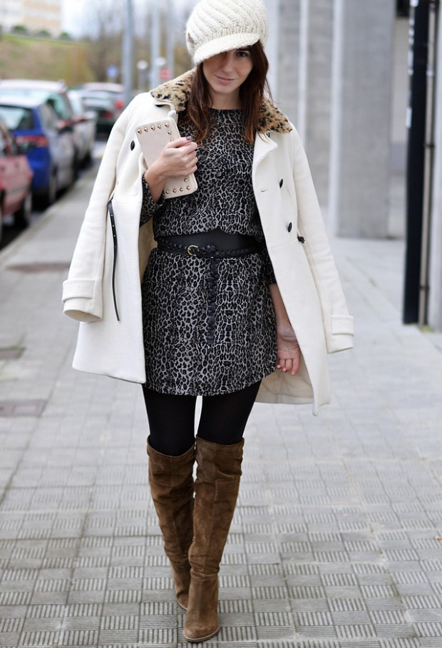 20 Popular Street Style Combinations for Winter (6)