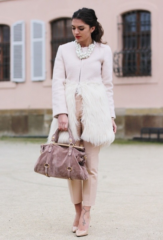 20 Popular Street Style Combinations for Winter (8)